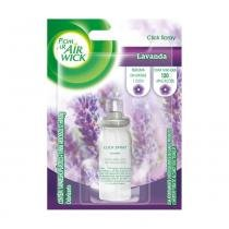 Refil Bom Ar Air Wick Click Spray Lavanda -