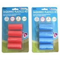 Refil de Saquinhos Plásticos para Pet W235-PWB-3 - Vermelho BATIKI