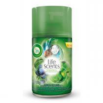 Refil Odorizador Freshmatic Bom Ar Air Wick Frescor da Cachoeira 250ml -