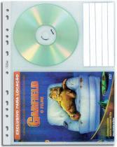Refil Protetor de DVDs Chies Cristal Gofrado 1411-0 -