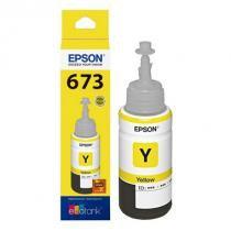 Refil Tinta Epson T673 T673420 Yellow L800 L810 L1800 L805 70ml -