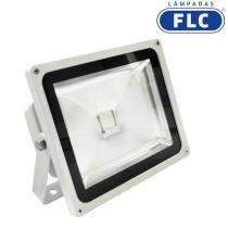 Refletor com LED 50W Bivolt 3000K - FLC - FLC