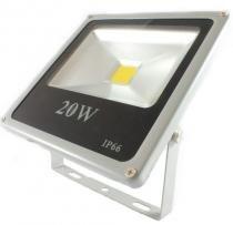 Refletor de LED 20w Branco à prova D água IP65 - importado