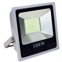 Refletor JNG FL01 Led 100W 10000LM 6400K - Jng materiais elétricos
