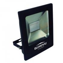 Refletor LED em Alumínio 50W Slim Blumenau Preto -