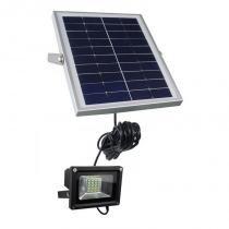 Refletor LED Solar 10w 25 Leds Auto Recarregável - Iluminim led