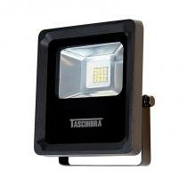 Refletor Led TR 10 8W 3000K Preto Taschibra -