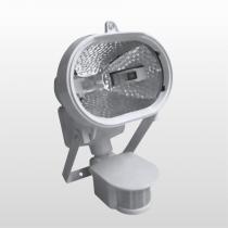 Refletor Oval Com Sensor Hálogeno 150w 6017 Bivolt Branco Key West - DNI
