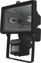 Refletor para halógena 100-150 preto com sensor - Foxlux