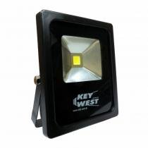Refletor Slim SuperLED SMD Branco - 10W Bivolt- DNI 6065 - KEY WEST