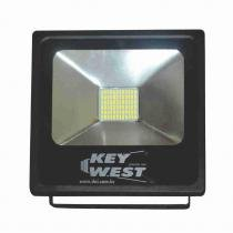 Refletor Slim SuperLED SMD Branco - 30W Bivolt- DNI 6067 - KEY WEST