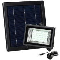 Refletor Solar LED 0,6W Luz Branca - Ecoforce 17194