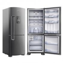 Refrigerador Brastemp Duplex Inverse Frost Free Platinum 422L 110V BRE50NK - Brastemp