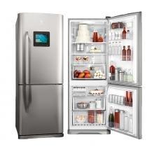 Refrigerador Electrolux Duplex Bottom Freezer Frost Free Inox 454L 220V DT52X - Electrolux