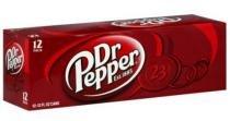 Refrigerante dr pepper cola 12 unid 355ml -