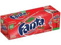 Refrigerante fanta strawberry 12 unid 355ml - Fantaw