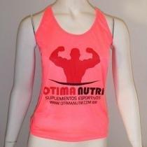 Regata Feminina OtimaNutri - Pink Neon Tamanho M - Roupas diversas