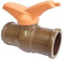 Registro de esfera soldável 25 mm chiva com 10 - Chiva