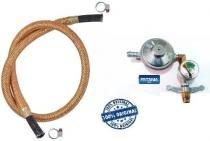 Registro valvula botijão imar manometro 1,2m mang cobre 6278 - Fritania