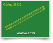 Régua Para Patchwork Foundation 1/4 1 x12 Kriativa -