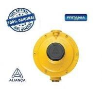 Regulador de gás ind baixa pressão amarelo aliança 1271 - Fritania
