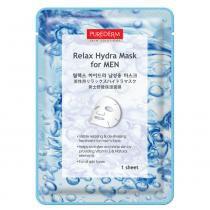 Relax Hydra Mask for Men Purederm - Máscara Hidratante para Homens - 1 Unidade - Purederm