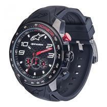Relógio Alpinestars Tech Chrono Preto pulseira silicone preto - Alpinestars