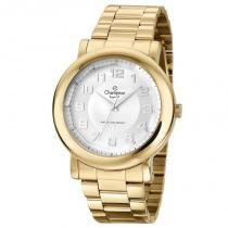 Relógio analógico feminino champion dourado cn27198h - champion