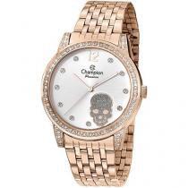Relógio analógico feminino champion rosê cn29212z -