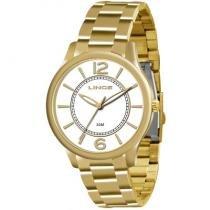Relógio analógico feminino lince prata lrg4308l b2kx - Lince