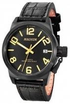 Relógio analógico masculino magnum ma33424p - magnum
