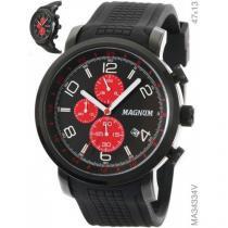 Relógio analógico masculino magnum ma34334v - magnum