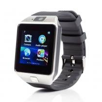 Relógio Bluetooth Smartwatch Gear Chip Dz09 Iphone E Android - Mega page