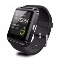 Relogio bluetooth smartwatch u8 compativel iphone android sem fio preto - Importado