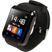 Relogio Bluetooth u8+ Plus Smartwatch Touch Screen Sem fio Inteligente Ligação Viva Voz Preto -