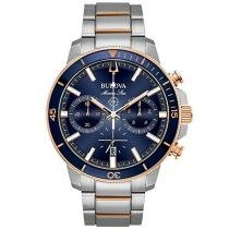 ac872cf0440 Relógio Bulova Marine Star 98b301 -