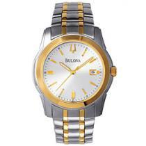 Relógio Bulova WB 21016 B Masculino - Social Analógico