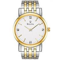 Relógio Bulova WB 21650 S Masculino - Social Analógico