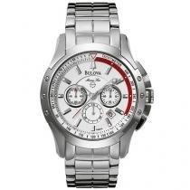 Relógio Bulova WB 30855 Q Masculino - Esportivo Analógico com Cronógrafo