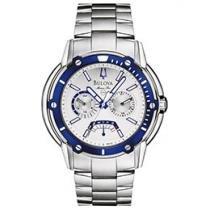Relógio Bulova WB 31069 F Masculino - Esportivo Analógico com Calendário e Cronógrafo