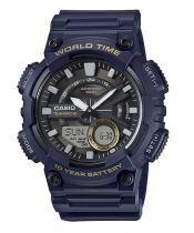 Relógio casio aeq-110w-2avdf azul - Casio