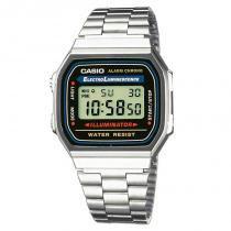 Relógio Casio Digital Feminino Vintage - A168WA-1WDF - Casio