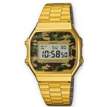 8b9b2e88769 Relógio Casio Feminino Vintage A168WEGC-3DF -