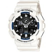 Relógio Casio G-Shock Masculino Ga-100b-7a Branco - Casio