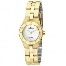 e7e1fb78603 Relógio Champion Feminino Analógico Dourado CA28378H -