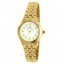 bd0ff7f9d89 Relógio Champion Feminino Analógico Dourado CH24848H -