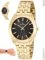 d6262d22120 Relógio Champion Feminino Analógico Dourado CN20417U -