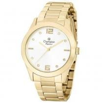 d947beea400 Relógio Champion Feminino Analógico Dourado CN25145H -