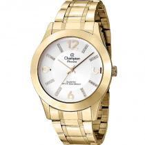 9b2d5e56809 Relógio Champion Feminino Analógico Dourado CN28713H -