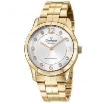 4fdb820447b Relógio Champion Feminino Analógico Dourado CN29909H -